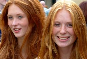irish red heads