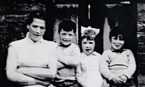 IRA victim Jean McConville with three of her 10 children. Photograph: -/AFP/Getty Images
