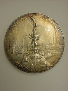 "photo credit: <a href=""http://www.flickr.com/photos/41258145@N03/7268561194"">2000-158-19 Medal, Olympics, 1920, Antwerp, Gold, Reverse</a> via <a href=""http://photopin.com"">photopin</a> <a href=""https://creativecommons.org/licenses/by/2.0/"">(license)</a>"
