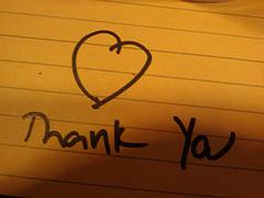 photo credit: Thank You! via photopin (license)
