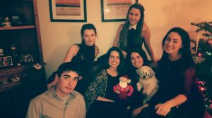Xmas 2014 with Santa