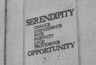 photo credit: SERENDIPITY CHANCE COINCIDENCE FATE FORUITY LUCK PROVIDENCE OPPORTUNITY via photopin (license)
