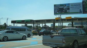 "photo credit: David McKelvey <a href=""http://www.flickr.com/photos/94735786@N00/7052989801"">Toll booths, Sri Rat Expressway, Bangkok, Thailand</a> via <a href=""http://photopin.com"">photopin</a> <a href=""https://creativecommons.org/licenses/by/2.0/"">(license)</a>"