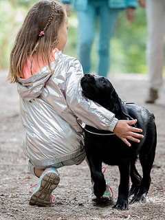 photo credit: Angelbattle bros Best of friends. Christina and Pippa the black Lab. via photopin (license)